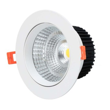 downlight vs luz empotrada