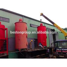 Incinerador de residuos diario a la caldera de la planta de energía MSW