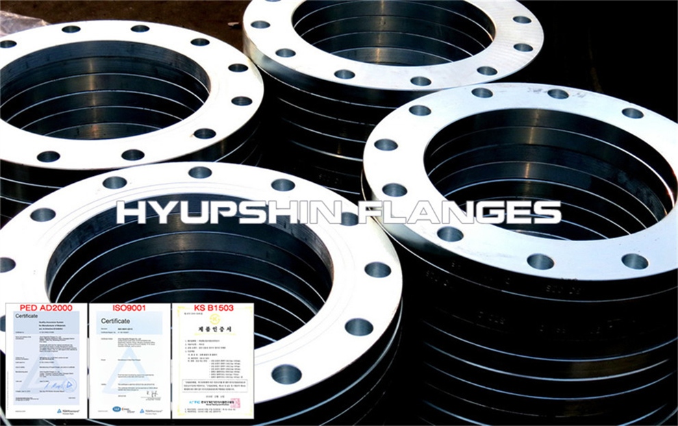 Hyupshin Flanges Plate Flanges