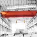 CE, ISO viga doble certificada grúa de arriba de 20 toneladas