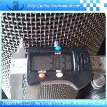 SUS 304L Maille métallique crêpée