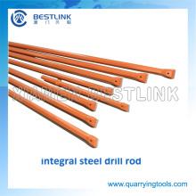 Pedra da fábrica de China aço Integral de haste de perfuração para pedreiras