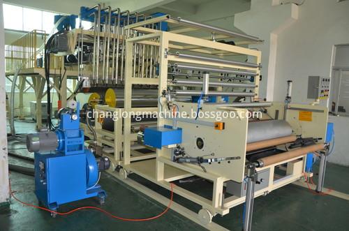 Machine For Plastic Film