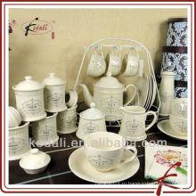 2015 Hot Style оптовый фарфор керамический набор посуды посуда набор подарков