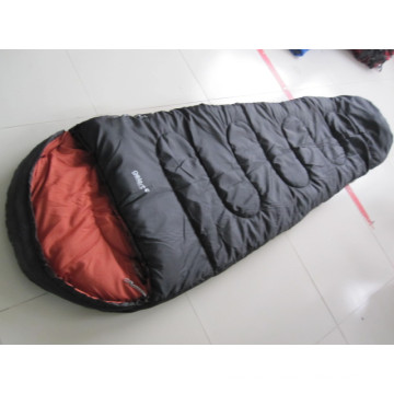 Compress Mummy hollow fibre travel sleeping bags