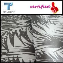 Tecido de popeline barato impressão reactiva para telas de Upholstery/Upholstery imprimido com palavras