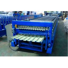 PLC steuern die doppelte Schicht-Dachplatte, die Maschine herstellt