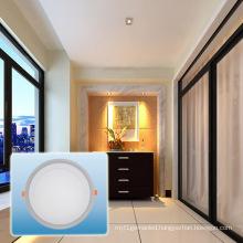 LED Recessed Light/85-265V Double Color Round COB Light