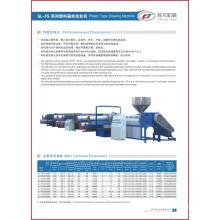 Plastikband-Zeichnungsmaschine PP Extruder (SL -FS)
