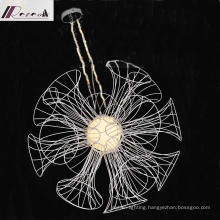 White Horn Flower LED High Quality Chandelier