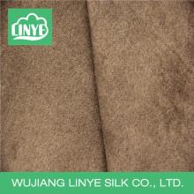 Tecido de camurça de poliéster tecido à prova d'água / tecido de tampa de almofada de sofá