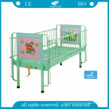 Le lit en acier utilisé le moins cher d'hôpital en acier (AG-CB002)