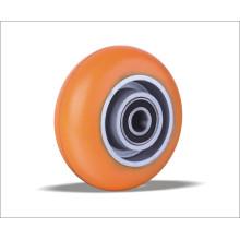 Промышленные твердые полиуретановые пенополиуретановые колеса