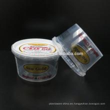 FDA certificó el envase plástico disponible de la salsa de inmersión que moldeaba por inyección 7oz / 210ml