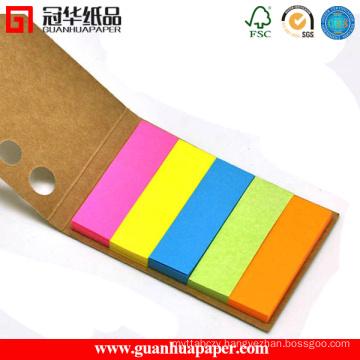 Die Cut Memo Pad Custom Sticky Memo Pad with Cover
