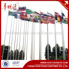 Hot sale galvanized steel flag pole