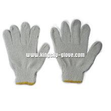7g Gebleichter weißer String Knit Working Glove-2401
