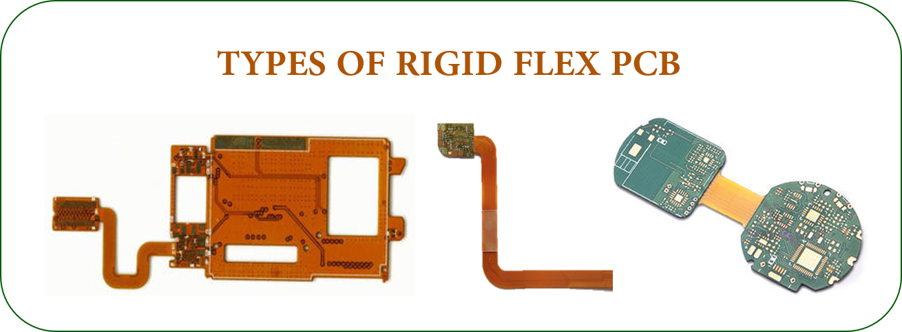 TYPES OF RIGID FLEX PCB | JHYPCB