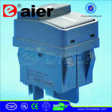 Rocker Switch T125 5E4 With Two Push Buttons