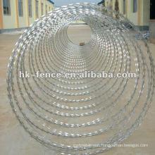 BTO-22 Hot Dipped Galvanized Razor Blade Barbed Wire