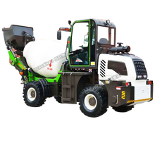 High quality self loading 1.2 M3 concrete mixer truck price