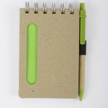 Green Eco-friendly notebook