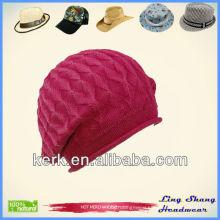 Warm Winter Hat Free Knitting Pattern Hat Beanie Custom Knitted Beanie Hat winter hat , LSC25