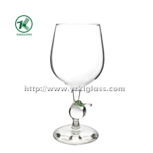 Single Wall Wine Glass by SGS (dia9*19)