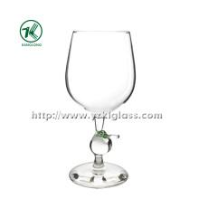Single Wall Wine Glass by SGS (dia9*19)