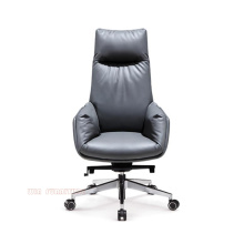 Synthetic Leather Swivel Executive Office Chair