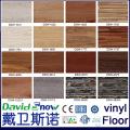 Olhar de madeira antiderrapante revestimento de vinil PVC luxo clique