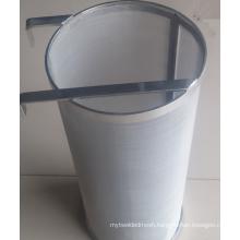 "Gold supplier 4""*10""stainless steel hop filter basket hop spider 300 micron"