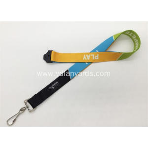 Personalized Neck Lanyards Heat Transfer Printing Lanyards
