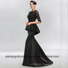 Frauen-Spitze, die sexy Abend-Partei-Abschlussball-Kleid bördelt