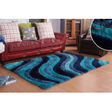 Parlour Office Colorful Handmade Carpet Rug and Carpet