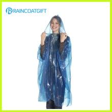 Günstige Blue PE Einweg-Regenbekleidung