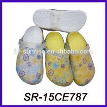 Zapato del jardín del eva del color del cambio de la sol zapato del jardín del zapato del jardín del eva
