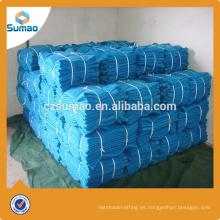 Red de seguridad plástica de la cerca de advertencia del hdpe de la fabricación del nivel superior