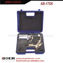 Tipo de sucção HVLP pistola de pulverização Kit soprado embalado AB-17SK
