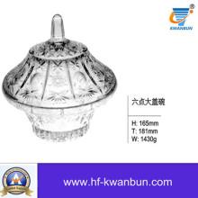Высококачественный устойчивый стеклянный салат Candy Bowl Tableware Kb-Hn0377