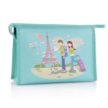 Bolsa estampada para higiene pessoal para cosméticos Lady Fashion Clutch (YKY7532-3)