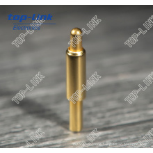 Spring Loaded Brass Pogo Pin for DIP with Diameter 0.9