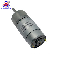 37mm Dia Permanent Magnetic Planet Gear Box Motor 150 RPM DC 24V
