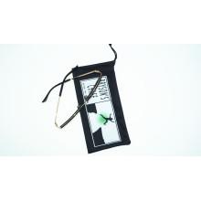 hot transfer printing microfiber sunglasses pouch
