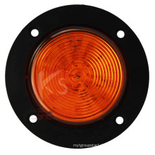 DOT Approved 2.5inch Yellow Light Round Clearance Marker Waterproof, High Bright, 2 Year Warranty