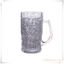 Doppelwand Frosty Mug Frozen Ice Bierkrug für Werbegeschenke (HA09071-2)