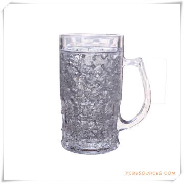 Tasse de glace à double paroi Tasse à bière de glace congelée pour cadeaux promotionnels (HA09071-2)