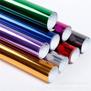 Bubble Free Chrome Mirror Vinyl Film