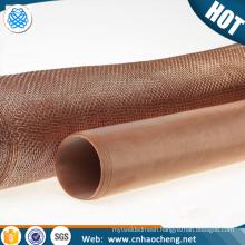Ultra thin paper making phosphor bronze mesh phosphor bronze paper printing wire filter mesh