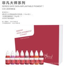 Mastor Vivide Pure Organic Lip Pigment Set / Aprobación FDA